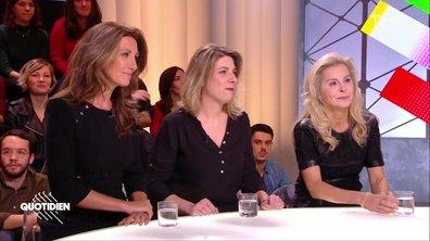 """Invitées : Anne-Claire Coudray, Anne Barrier et Liseron Boudoul pour """"Elles risquent leur vie"""""""