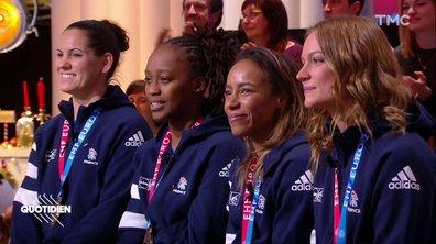Invitées : les Bleues championnes d'Europe de handball