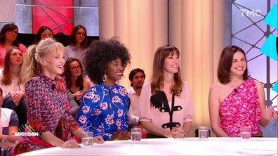 """Invitées : """"Les Parisiennes"""" Arielle Dombasle, Mareva Galanter, Helena Noguerra et Inna Modja"""