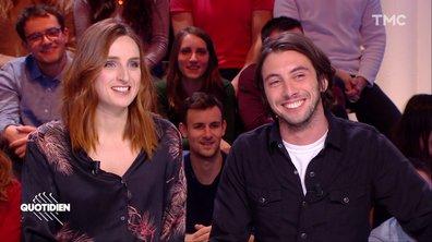 """Invités : Alison Wheeler pour """"Ma vie est mieux que la vôtre"""" et Étienne Carbonnier pour """"Les Foufous du sport"""""""