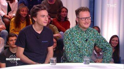 """Invités : Baptiste Beaulieu et Axel Auriant adaptent au théâtre le roman """"Les 1001 vies des urgences"""""""