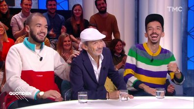 Invités : Bigflo et Oli et leur père Fabian Ordoñez pour la sortie de son premier album