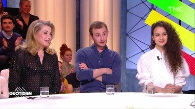 """Invités : Catherine Deneuve, Oulaya Amamra et Kacey Mottet-Klein, pour """"L'adieu à la nuit"""""""