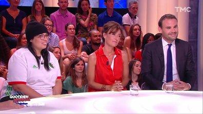 Invités Coupe du monde : Nathalie Iannetta et Cyrille Bret