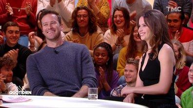 """Invités : Felicity Jones et Armie Hammer pour """"Une femme d'exception"""""""