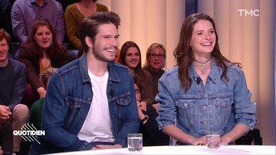 """Invités : François Civil et Joséphine Japy pour """"Mon inconnue"""""""