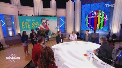 """Invités : François Ozon, Benjamin Voisin et Félix Lefebvre pour """"Eté 85"""""""