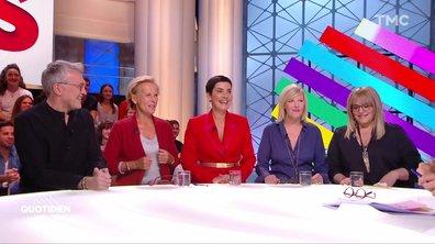 Invités : Les Grosses têtes Laurent Ruquier, Cristina Cordula, Christine Ockrent, Caroline Diament et Chantal Ladesou