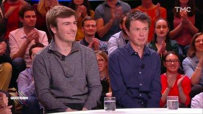 Invités : les journalistes politiques Antton Rouget et Maël Thierry
