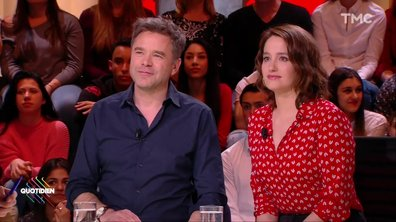 "Invités : Marie Gillain et Guillaume de Tonquedec pour ""Speakerine"""
