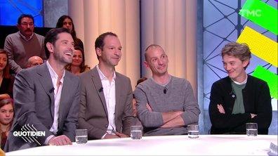 Invités : Melvil Poupaud, Swann Arlaud, Alexandre Dussot-Hezez et Pierre-Emmanuel Germain-Thill pour « Grâce à Dieu » de François Ozon