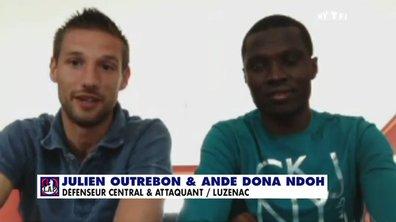 MyTELEFOOT - L'invité Skype du 20 avril 2014 : Julien Outrebon et Ande Dona Ndoh de Luzenac