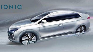 Hyundai Ioniq 2016 : 2 nouvelles images pour la berline électrisée