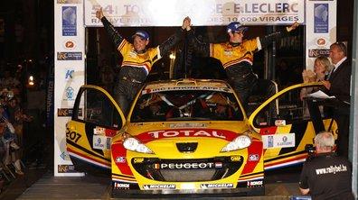 IRC Tour de Corse :  Neuville s'impose sur Peugeot 207