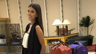 Iris Mittenaere a quitté Manille direction New – York !