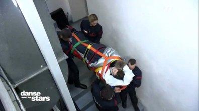 Iris Mittenaere transportée à l'hôpital après une chute lors des répétitions