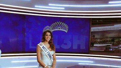 Iris Mittenaere réagit à la bourde lors de l'élection de Miss Univers 2015