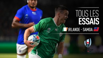 Irlande - Samoa : Voir tous les essais du match en vidéo