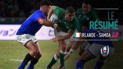 Irlande - Samoa : Voir le résumé du match en vidéo
