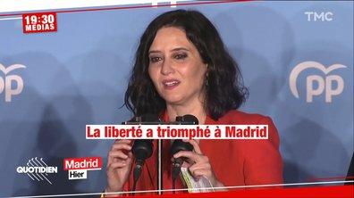"""Isabel Díaz Ayuso, la """"Trump espagnole"""" qui a dynamité la gauche à Madrid"""