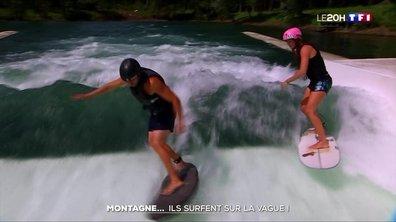 Isère : ils surfent la vague en montagne !