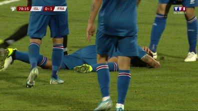 Islande - France (0 - 1) : Quand Blaise Matuidi assomme un adversaire