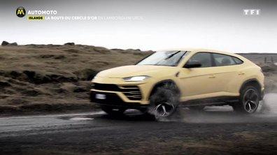 Islande - La route du cercle d'or en Lamborghini Urus