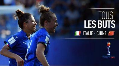 Italie - Chine : Voir tous les buts du match en vidéo