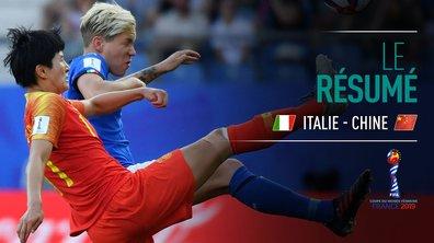Italie - Chine : Voir le résumé du match en vidéo