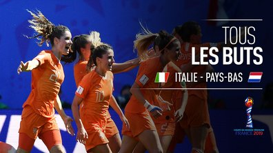 Italie - Pays-Bas : Voir tous les buts du match en vidéo