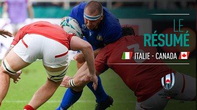 Italie - Canada : Voir le résumé du match en vidéo