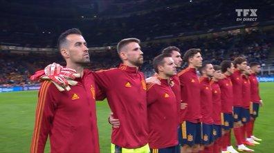 Italie - Espagne : l'hymne espagnol en vidéo