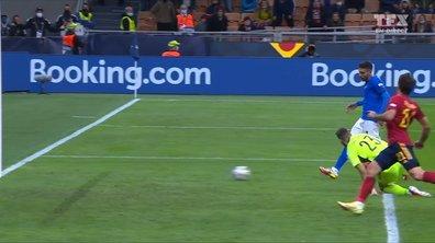 Italie - Espagne (1 - 2) : le but de Pellegrini