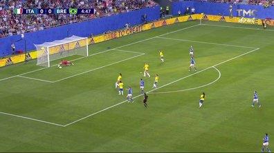Italie - Brésil (0 - 0) : Voir l'occasion de Bonansea en vidéo