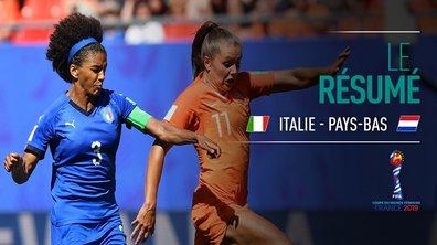 Italie - Pays-Bas : Voir le résumé du match en vidéo