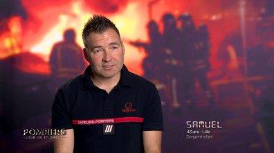 """Samuel Verkampt témoigne : """"Un pompier doit être capable de se remettre en question"""""""