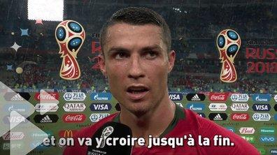 """Cristiano Ronaldo : """"J'ai toujours cru en moi"""""""