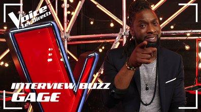 Gage, son interview BUZZ : « Ce premier direct n'a pas été facile, mais quel plaisir !  »