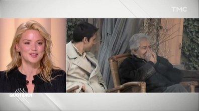 """""""J'ai la chance de l'avoir rencontré"""" : l'hommage de Virginie Efira à Philippe Gildas"""