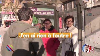 """""""J'en ai rien à foutre"""" - Réponse hostile d'une partisane FN à Saint-Dizier"""
