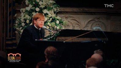 """""""J'étais submergé par l'émotion"""" : retour sur l'hommage d'Elton John à la princesse Diana"""