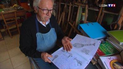 Jacky Chéry, le passionné d'outils de jardin de Chenicourt