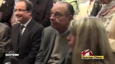 Quand Jacques Chirac se faisait gauler par Bernadette en pleine tentative de drague