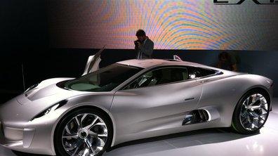 Mondial de l'Auto 2010 : Jaguar C-X75, une supercar qui repousse les limites
