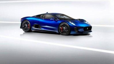 Jaguar C-X75 : l'ex-futur supercar hybride en photos