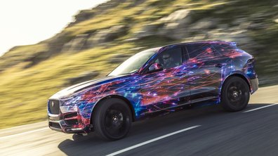 Jaguar F-Pace 2016 : nouvelles vidéo et photos avant le Salon de Francfort