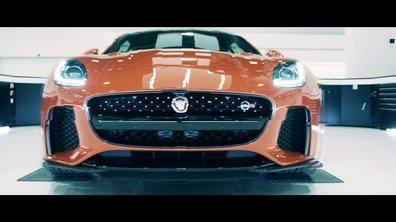 Jaguar F-Type SVR 2016 : présentation officielle