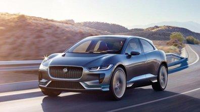 Jaguar I-Pace : un concept-car pour le futur SUV 100% électrique