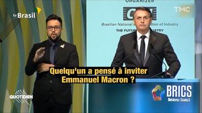 Jair Bolsonaro organise l'anti-Forum de la Paix