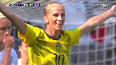 Angleterre-Suède : Le but de Jakobsson en vidéo